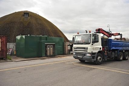 Fuel Tek in Blackburn with the Darwen Council