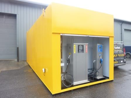 S.E. Davis Triple Compartment Diesel Gas, Oil & Adblue Internals