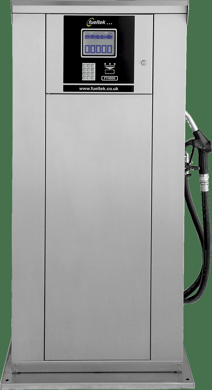 The Fueltek FT4000AP fuel pump on a plain background