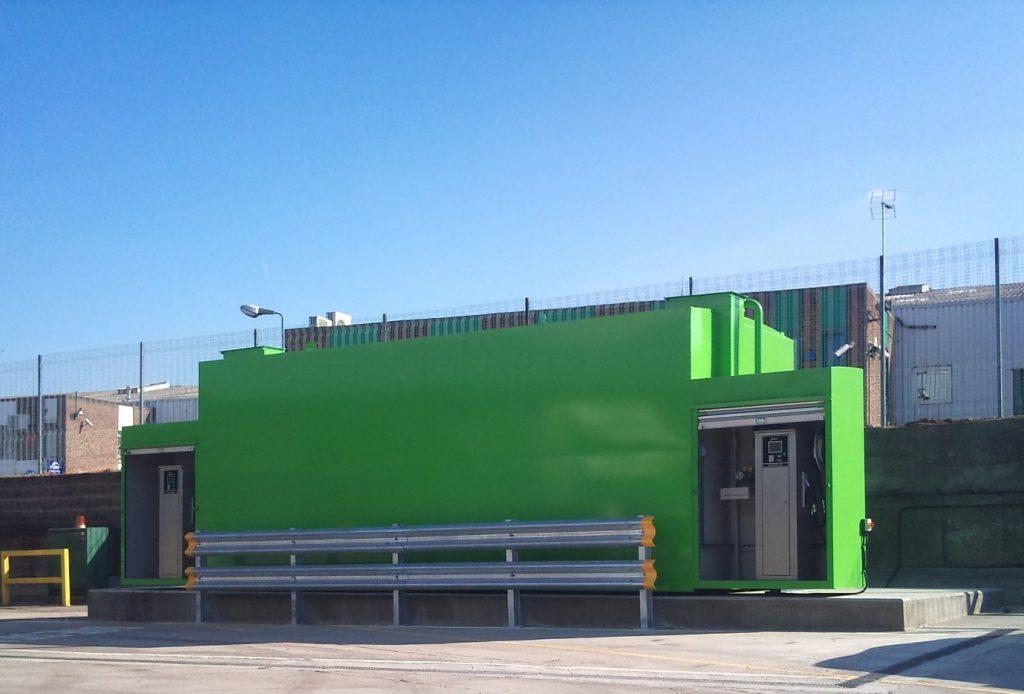 green fuel tek station